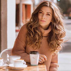 Sweaters - Chunky loose turtleneck sweater